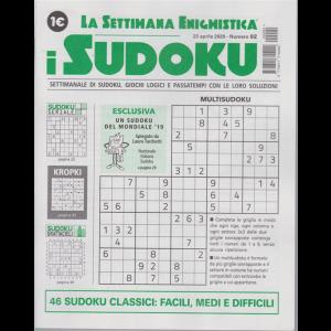 La settimana enigmistica - i sudoku - n. 92 - 23 aprile 2020 - settimanale