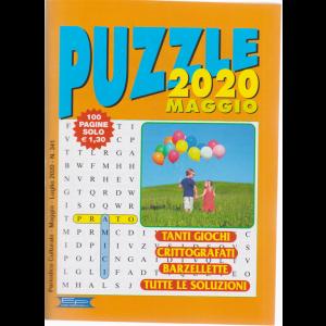 Puzzle 2020 -  - n. 341 - maggio - luglio 2020 - 100 pagine