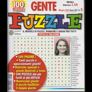 Gente Puzzle - n. 5 - maggio 2020 - mensile - 100 pagine - 100 puzzle