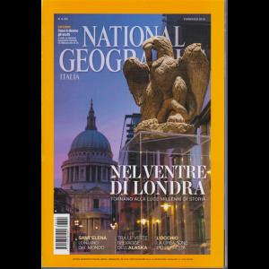 National Geographic - Nel ventre di Londra - n. 2 - mensile - febbraio 2016