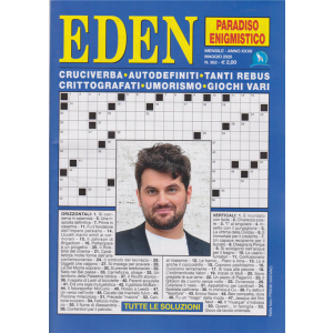Eden - Paradiso enigmistico - n. 362 - mensile - maggio 2020 -