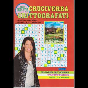 Cruciverba crittografati - n. 312 - mensile - maggio 2020 -