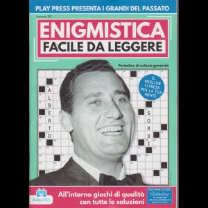 Enigmistica facile da leggere - n. 20 - bimestrale - 28/3/2019 - Alberto Sordi