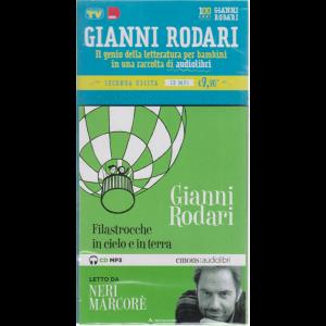 I Libri di Sorrisi2 - Gianni Rodari - Filastrocche in cielo e in terra - seconda uscita cd mp3 - n. 3 - settimanale