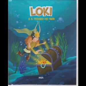 Miti e dei vichinghi - Loki e il tesoro dei nani - n. 6 - settimanale - 26/4/2020 - copertina rigida