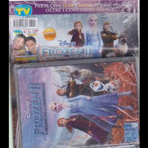 Sorrisi e Canzoni tv + dvd Frozen Il segreto di Arendelle - rivista + dvd -