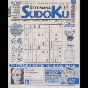 Settimana Sudoku - n. 705 - settimanale - 15 febbraio 2019 -