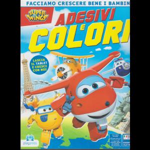 Super Wings Adesivi - E Colori - n. 14 - aprile - maggio 2019 - bimestrale