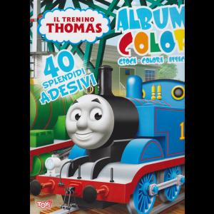 Album color Il trenino Thomas - n. 37 - bimestrale - 12 marzo 2020 -