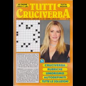 Tutti Cruciverba - n. 143 - bimestrale - giugno - luglio 2020 - 100 pagine