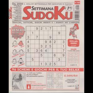 Settimana Sudoku - n. 768 - settimanale - 1 maggio 2020 -