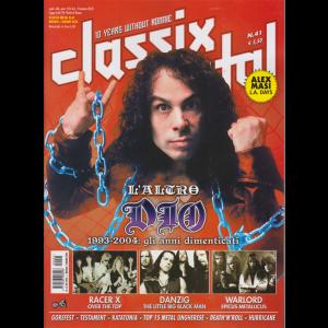 """Classix! Metal - L'altro """"Dio"""" 1993-2004: gli anni dimenticati - n. 41 - maggio - giugno 2020 - bimestrale -"""