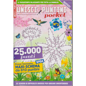 Unisci i puntini pocket - n. 3 - bimestrale - maggio - giugno 2020