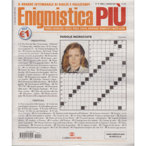 Enigmistica Piu' - n. 18 - 5 maggio 2020 - settimanale