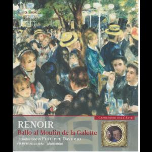 I capolavori dell'arte - Renoir - Ballo al Moulin de la Galette n. 8 - settimanale -