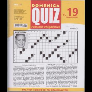 Domenica Quiz - n. 19 - settimanale - 7 maggio 2020