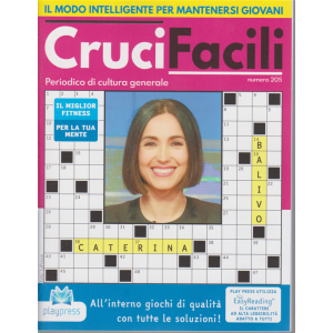 Crucifacili - n. 205 - bimestrale - 29/4/2020 - Caterina Balivo