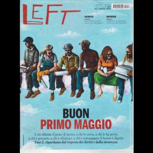 Left Avvenimenti - n. 18 - 1 maggio 2020 - 7 maggio 2020 - settimanale