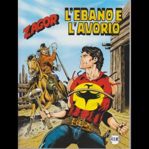 Zagor - L'ebano e l'avorio - n. 709 - mensile - maggio 2020