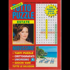 Speciale Tutto Puzzle - estate - n. 95 - trimestrale - giugno - agosto 2020 - 196 pagine