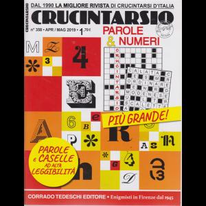 Crucintarsio - n. 358 - aprile - maggio 2019 - bimestrale -