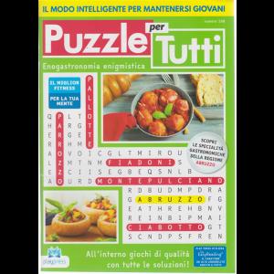 Puzzle per tutti - n. 108 - 2/5/2020 - bimestrale -