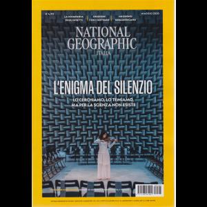 National Geographic - L'enigma del silenzio - n. 5 - mensile - 1 maggio 2020
