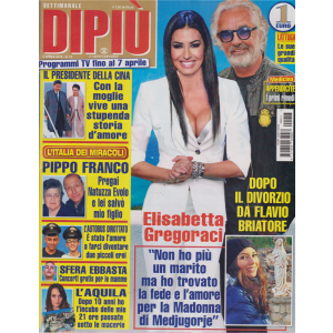 Settimanale Dipiu' - n. 13 - 8 aprile 2019 -