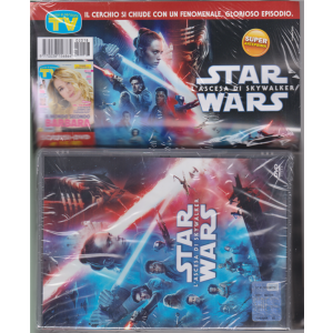 Sorrisi e Canzoni Tv + dvd Star Wars l'ascesa di Sky walker