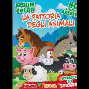 Toys2 Sticker Album color - La fattoria degli animali - n. 35 - bimestrale - 16 aprile 2020