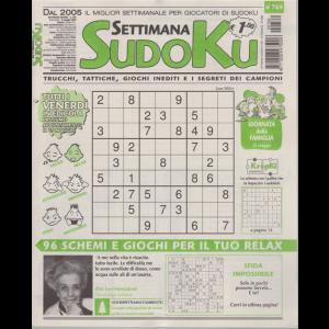 Settimana Sudoku - n. 769 - settimanale - 8 maggio 2020