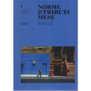 Norme & Tributi Mese -  - n. 5 - maggio 2020 - mensile
