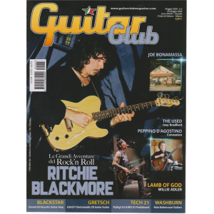 Guitar Club - Ritchie Blackmore - n. 5 - maggio 2020 - mensile