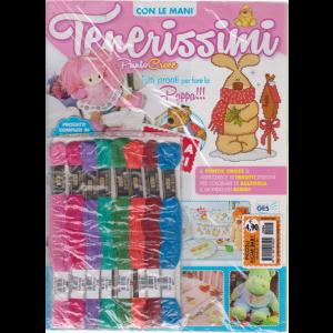 Piccoli Ricami Baby - Tenerissimi Punto Croce - n. 94 - mensile + 8 matassine