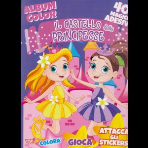 Toys2 Color & Sticker - Album color -  Il castello delle principesse - n. 44 - bimestrale - 16 aprile 2020 -