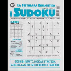 La settimana enigmistica - i sudoku - n. 94 - 7 maggio 2020 - settimanale