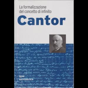 Geni della matematica - n. 13 - Cantor - settimanale - 7/5/2020 - copertina rigida
