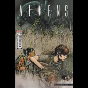 Aliens Saldacomics - n. 36 - mensile - 26/3/2020 -