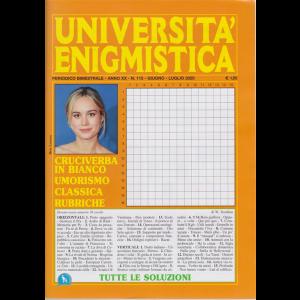 Università enigmistica - n. 115 - bimestrale - giugno - luglio 2020 -