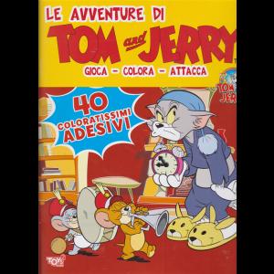 Le avventure di Tom and Jerry - bimestrale - 14 marzo 2019 - 40 coloratissimi adesivi