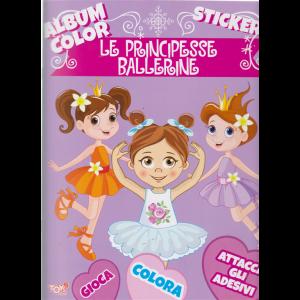 Album color - Le principesse ballerine - n. 10 - bimestrale - 21 marzo 2019 -