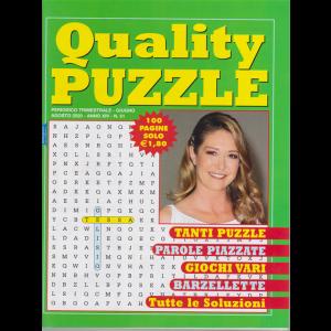 Quality Puzzle - n. 51 - trimestrale - giugno - agosto 2020 - 100 pagine - Tessa Gelisio