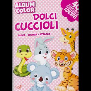 Album color Dolci cuccioli - n. 42 - bimestrale - 21 marzo 2019 - 40 dolcissimi adesivi