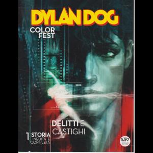 Dylan Dog Color Fest - Delitti e  Castighi - n. 33 - maggio 2020 - trimestrale -