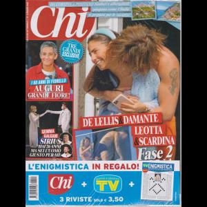 Chi + Sorrisi e canzoni tv + enigmistica - n. 19 - 6 maggio 2020 - settimanale - 3 riviste