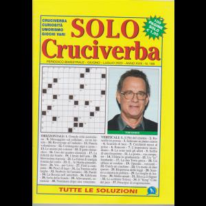 Solo Cruciverba - n. 188 - bimestrale - giugno - luglio 2020 - 100 pagine