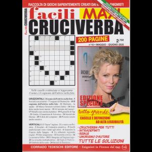 Facili Cruciverba Maxi - n. 10 - maggio - giugno 2020 - bimestrale - 200 pagine