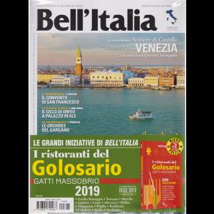 Bell'italia + I ristoranti del Golosario 2019 - Terzo volume - n. 396 - aprile 2019 - mensile  - rivista + libro
