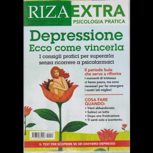 Riza Extra - Psicologia pratica - bimestrale - maggio - giugno 2020 - n. 14 - Depressione. Ecco come vincerla