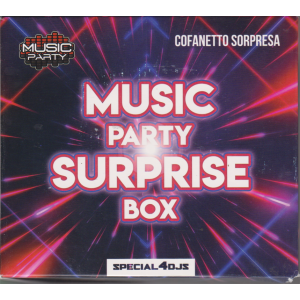 Music party surprise box - 2 cd - cofanetto sorpresa - n. 1 - trimestrale - 16 gennaio 2019
